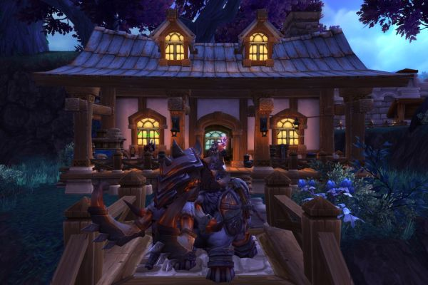Shatari Defense Trading Post - mount and building