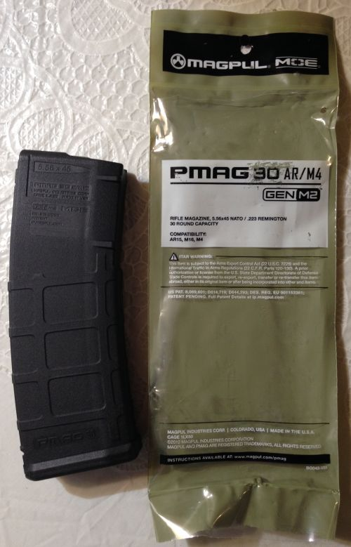 AR15 magpul 30rnd mag