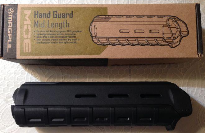 AR15 magpul MOE handguard