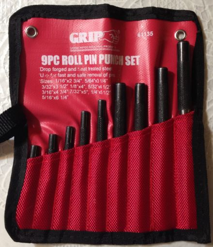 AR15 Roll Pin Punch Set